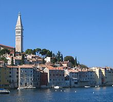 Rovinj town by machka