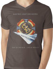 E.L.O. Live WEMLEY Mens V-Neck T-Shirt