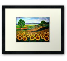 Flowers of Joy Framed Print