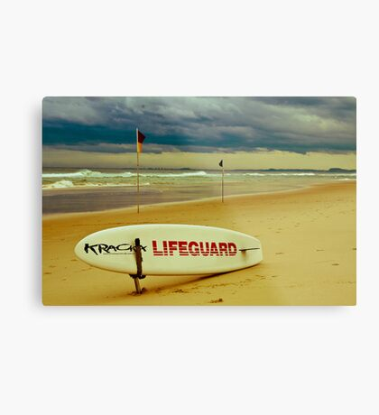 Lifeguard Metal Print