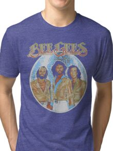Bee Gees DISCO BALL Tri-blend T-Shirt
