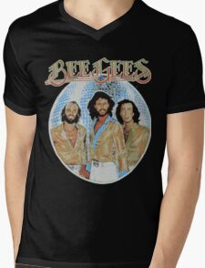 Bee Gees DISCO BALL Mens V-Neck T-Shirt