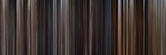 Moviebarcode: Back to the Future Trilogy (1985-1990) by moviebarcode