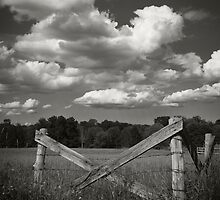 fence_clouds by James Gehrt