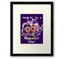 Magikarp-et Ride Framed Print