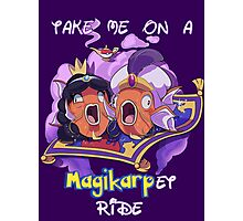Magikarp-et Ride Photographic Print
