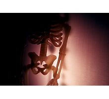 Halloween Skeleton Photographic Print