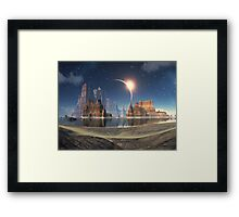 Shores of Serenity Bay Framed Print