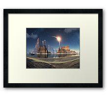 Shores of Serenity Bay Framed Print
