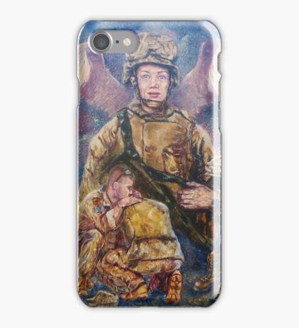 Fallen Soldier Angel Print iPhone Case/Skin