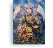 Fallen Soldier Angel Print Canvas Print