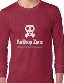 "Mac OS X Lion ""AirDrop Zone"" Long Sleeve T-Shirt"