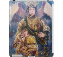 Fallen Soldier Angel Print iPad Case/Skin