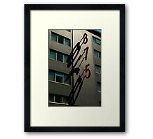 Shadow GAze... Framed Print