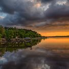 Last Light in Chestertown by anorth7
