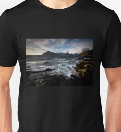 Loch Scavaig and the Cuillin Unisex T-Shirt