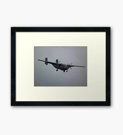 PZL M28 Skytruck Framed Print