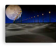 Lunar Gateway Canvas Print