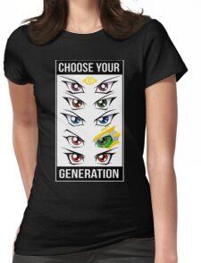 Yu-Gi-Oh! Eyes Womens Fitted T-Shirt