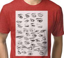 •Eyes• Tri-blend T-Shirt