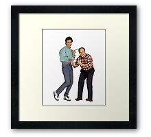 George and Jerry Framed Print
