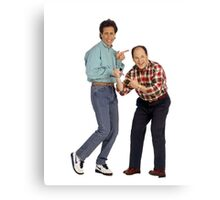 George and Jerry Canvas Print