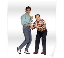 George and Jerry Poster