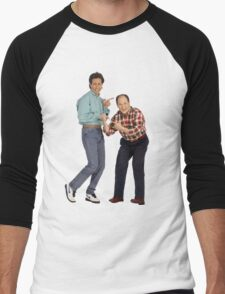 George and Jerry Men's Baseball ¾ T-Shirt