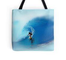 Big Wave Rider Surfing Art Tote Bag