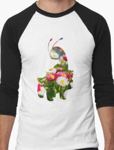 Meganium used petal blizzard Men's Baseball ¾ T-Shirt