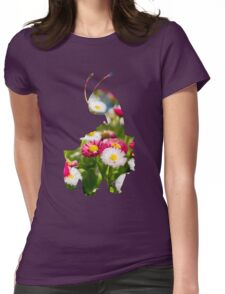 Meganium used petal blizzard Womens Fitted T-Shirt