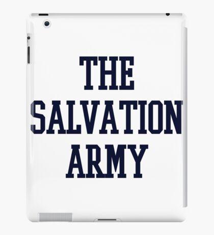 salvation army college navy blue iPad Case/Skin