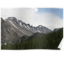 Snow Of The Rockies Poster