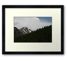 To Touch A Cloud Framed Print