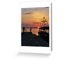 mellow harbour moment Greeting Card