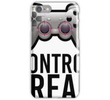 Control Freak Pun Video Game Controller Gamers iPhone Case/Skin