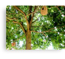 LONDON GARDEN 2 ~ Cycle Of The Human With Nature  Canvas Print