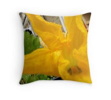 LONDON GARDEN 9 ~ & Where There's No Food Flowers Will Grow Throw Pillow