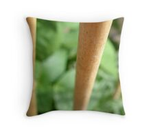 LONDON GARDEN 6 ~ Bamboo Climbers  Throw Pillow