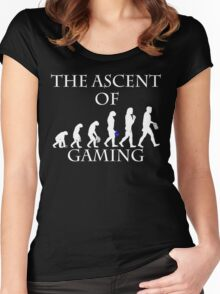 THE ASCENT OF GAMING #2 Women's Fitted Scoop T-Shirt