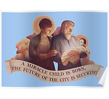 BioShock Infinite – A Miracle Child is Born! Poster