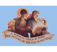 BioShock Infinite – A Miracle Child is Born! Photographic Print