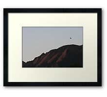 The Fly Over Framed Print