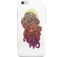SQUID OCTOPUS SKULL CREAM YELLOW ORANGE PINK PURPLE  iPhone Case/Skin
