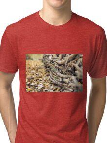 Wood Fence Tri-blend T-Shirt
