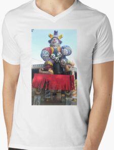 Circus Pyscho Clown Mens V-Neck T-Shirt
