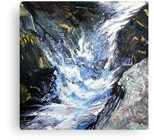 White Water Series. Canvas Print