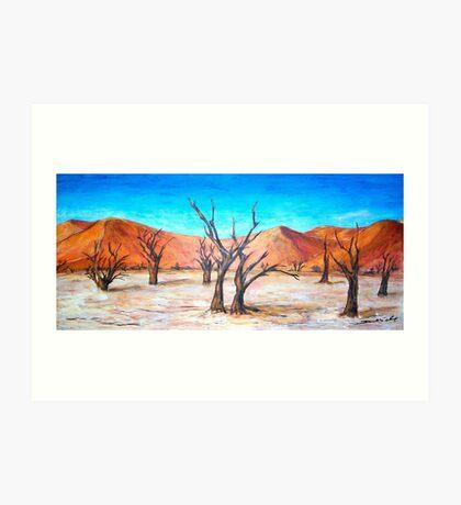 DeadVlei- Namibia  Art Print