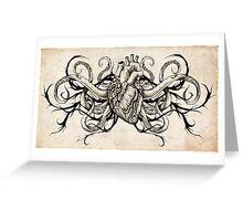 Hearts & Strings Greeting Card