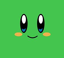 Kirby Face (Green) by samaran
